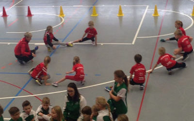 Mini-Hallensportfest in Bredstedt am 05.02.2017